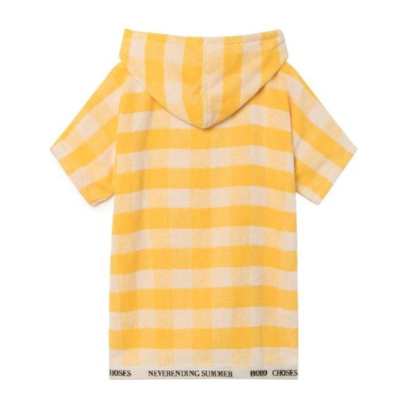 Poncho Towel Cover Up, Yellow