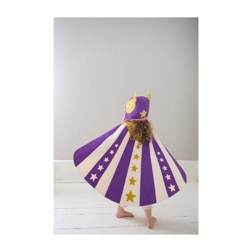 Flying Super Hero Set, Purple