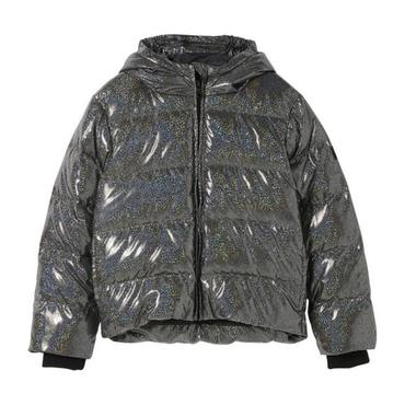 Snowfield Down Jacket, Black Hologram