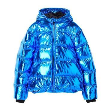 Snowfield Down Jacket, Pop Blue Metal