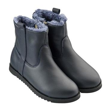 Lounge Boot, Navy Blue