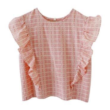 McKinley Ruffle Top, Pink
