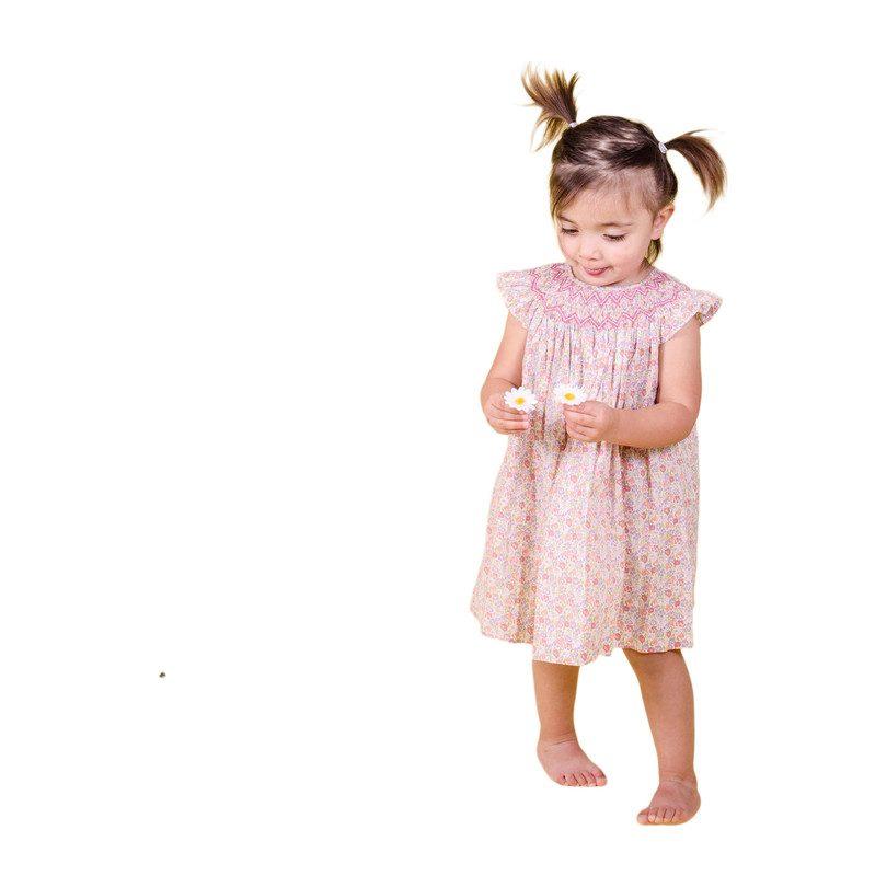 Beatrix Baby Dress, Pink