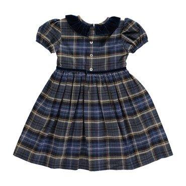 Raisin Dress, Navy