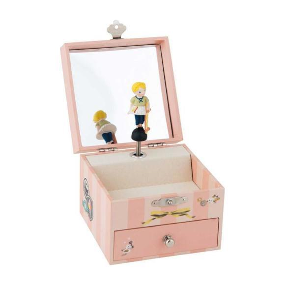 Musical Jewellery Box, Pink