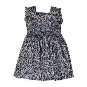 Quiqui Dress, Blue Floral