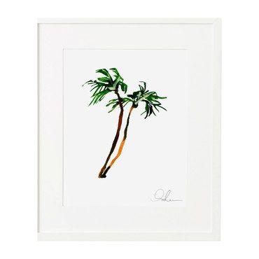 "Palms Print, 8"" x 10"""