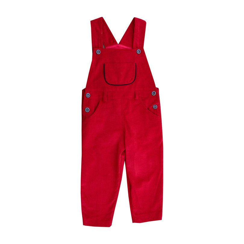 Colton Overall, Cranberry Corduroy