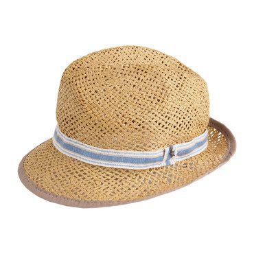 Straw Hat, Blue
