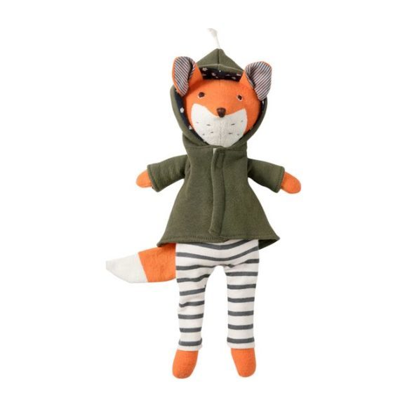 Reginald Fox in Jacket and Striped Pants