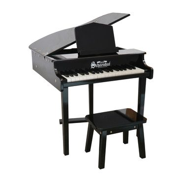 37-Key Concert Grand Piano, Black