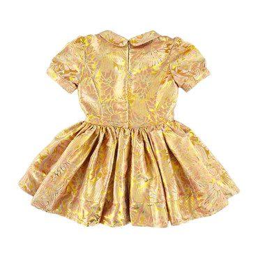 Isla Dress, Shine Gold