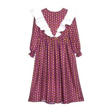Lottie Viscose Maxi Dress, Purple