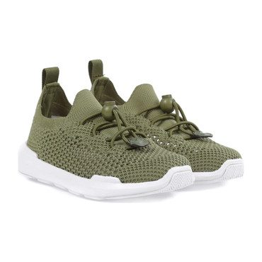 Sutherland Knit Sneakers, Army Green