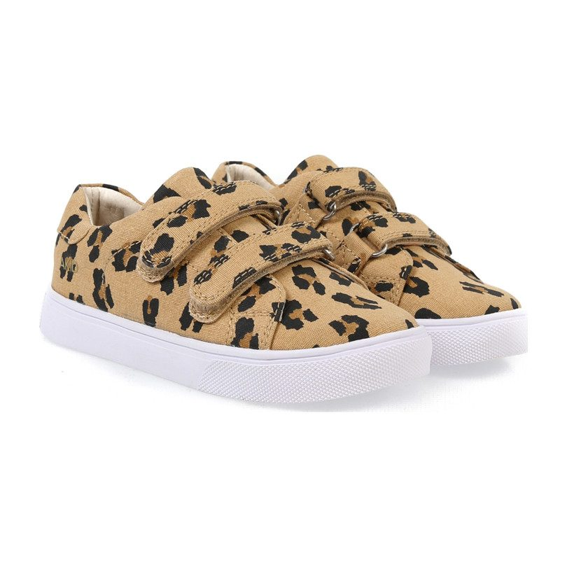 Axel Canvas Leopard, Brown