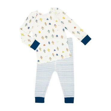 Baby Robot March Sleep Set, Cobalt