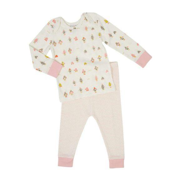 Baby Robot March Sleep Set, Pink