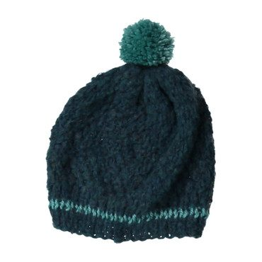 Striped Hat, Teal
