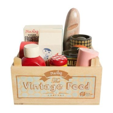 Vintage Mini Food Set