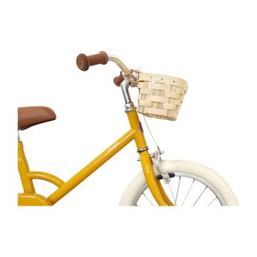 Kids Bike Basket, Natural