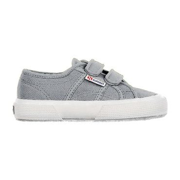 Classic Canvas Velcro, Light Grey