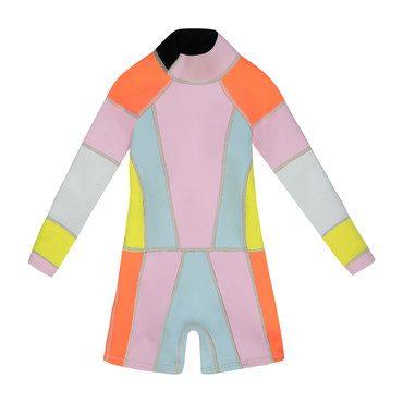 Girl's Colorblock Wetsuit 1mm