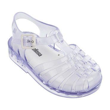 Mini Possession Sandal, Clear