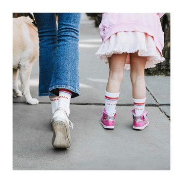 *Exclusive* Maman & Three Mini Varsity Sock Bundle