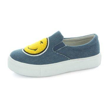 Jamie Emoji Slip On Sneaker, Denim