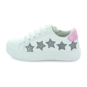 Lily Starry Sneaker, White