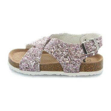 Ivy Criss Cross Sandal, Crushed Pink