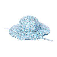 Annie Hat, Blue Floral