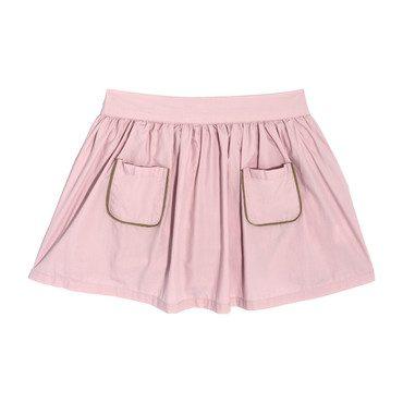 Vivian Skirt & Bloomer, Blush Cotton Poplin