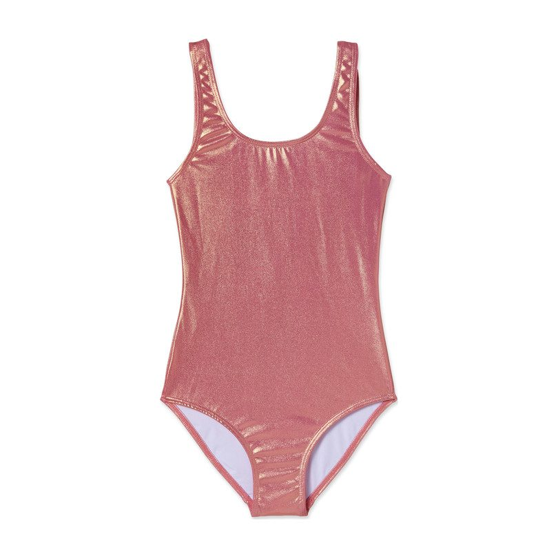 *Exclusive* Metallic One Piece, Holographic Pink