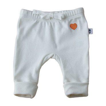 Heart Pants, White