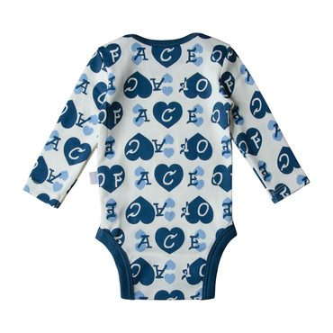 Ace of Hearts Onesie, Blue
