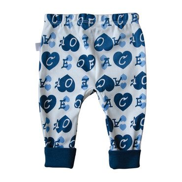 Ace of Hearts Pants, Blue