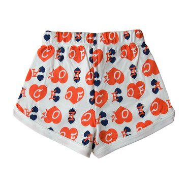 Ace of Hearts Shorts, Red