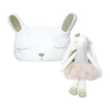 Doll and Pillow Set, Bella