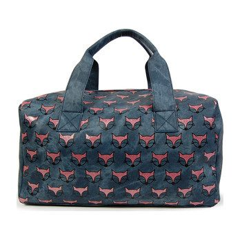 Fox Print Duffle Bag
