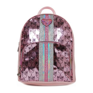 Omg Unicorn Icon Print Hologram Mini Backpack