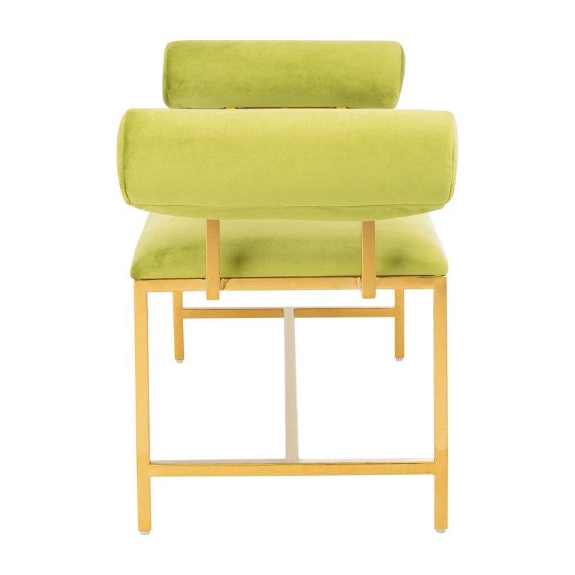 Jupitor Modern Bench, Lime