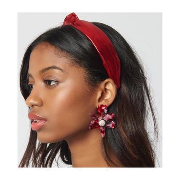 Petite Metallic Cherry Headband