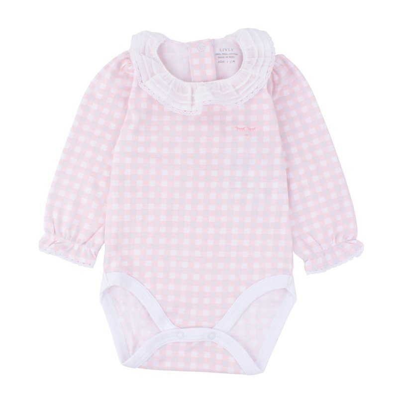 Mary Body Pink Plaid Registry Products Maisonette
