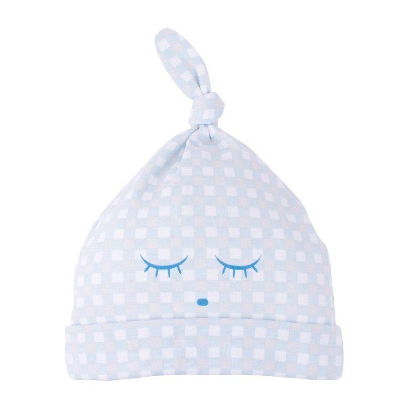 Tossie Hat, Blue Plaid