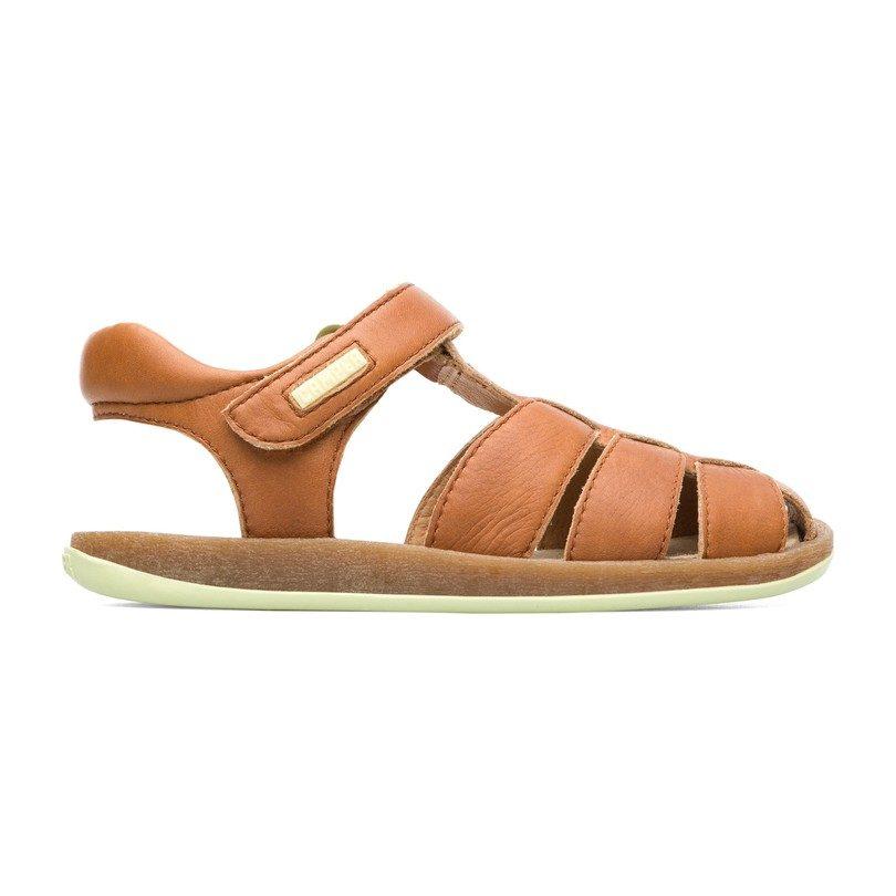 f76a6c02 Bicho Kids Fisherman Sandal, Medium Brown - Shoes - Maisonette