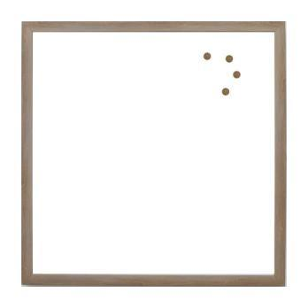 Blank Magnet Board, Rustic Brown