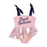 Beach Ballerina One Piece Swimsuit