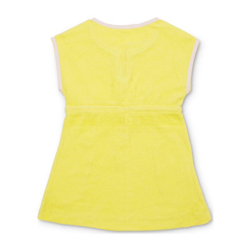 Short Sleeve Terry Coverup, Citron
