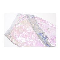 Flippable Sequins Mermaid Tail, Purple & Silver